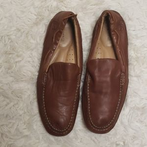 Sperry leather loafers